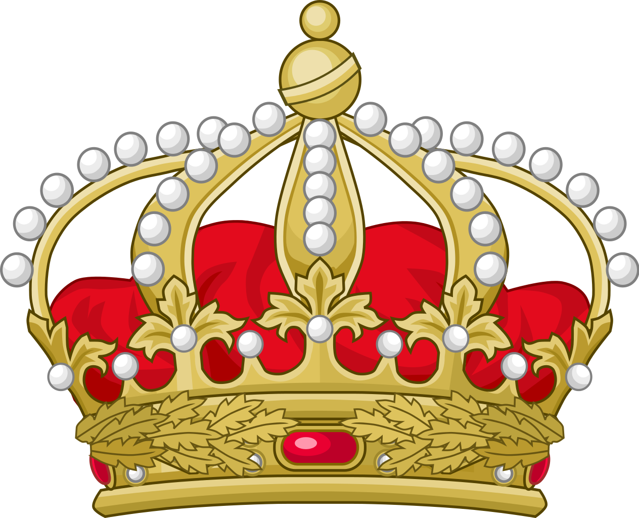 English crown clipart graphic freeuse stock File:Crown of Orléans.svg - Wikimedia Commons graphic freeuse stock