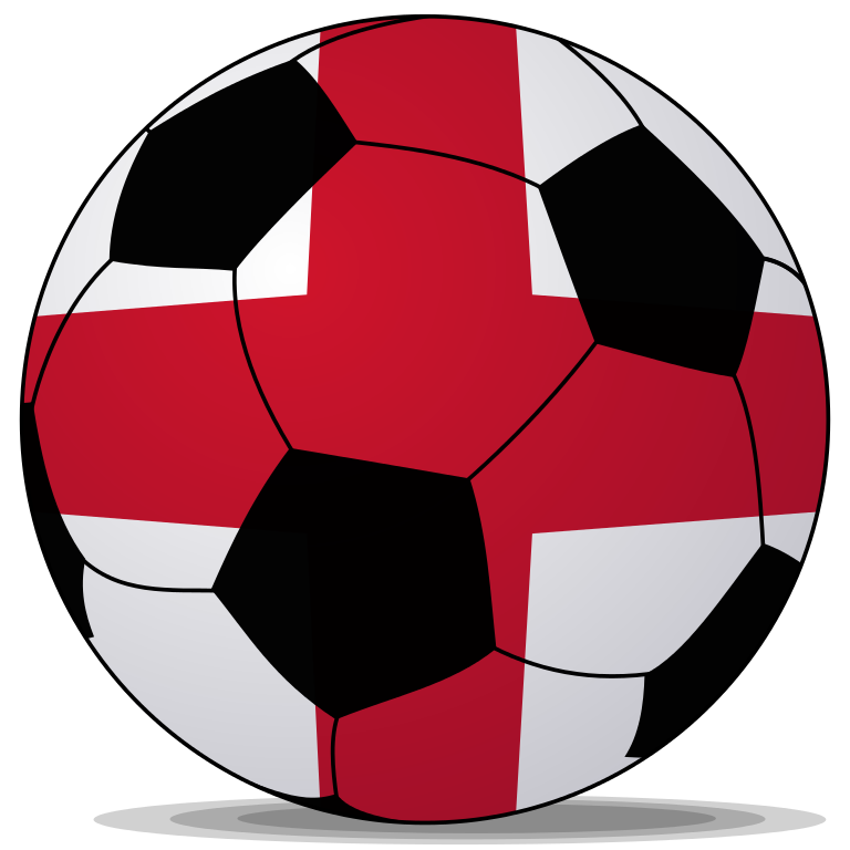 English football clipart vector library download File:Soccerball England.svg - Wikipedia vector library download