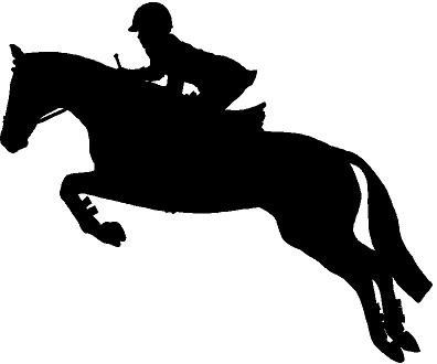 English horse clipart picture transparent library Jumping Horse Silhouette Clip Art - Tips Cara Merawat | art | Horse ... picture transparent library