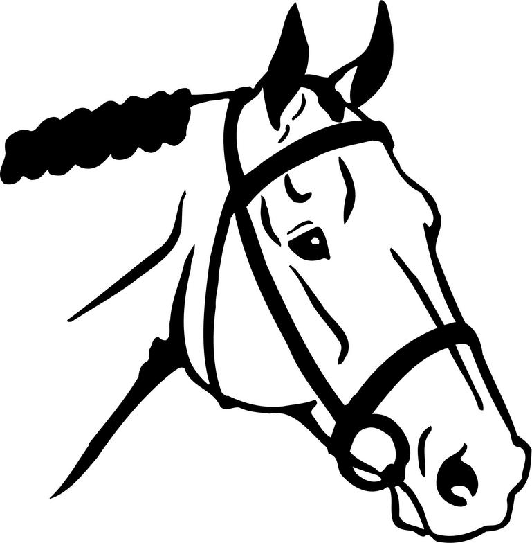 English horse clipart black and white library English Horse Riding Clipart | Clipart Panda - Free Clipart Images black and white library