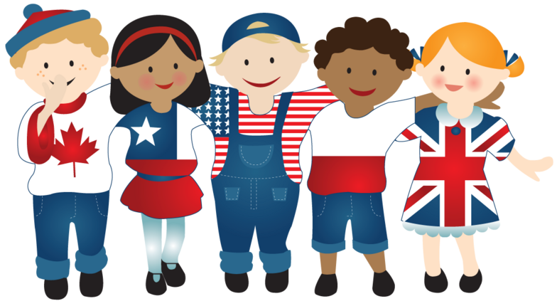 English speaking countries clipart svg freeuse download Answers for Where did English come from? - IELTS listening practice test svg freeuse download