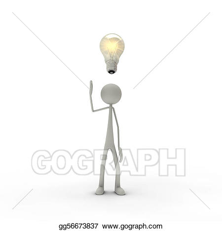 Enlightenment clipart banner black and white library Drawing - Figure with enlightenment. Clipart Drawing gg56673837 ... banner black and white library