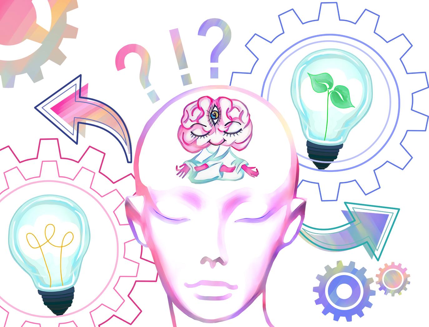 Enlightenment clipart png download Cute Brain Clipart:\
