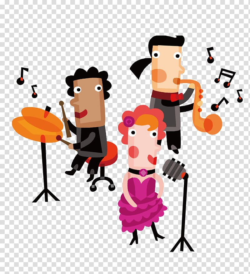Ensemble clipart image library Performance Musician Musical ensemble , Happy Singing transparent ... image library