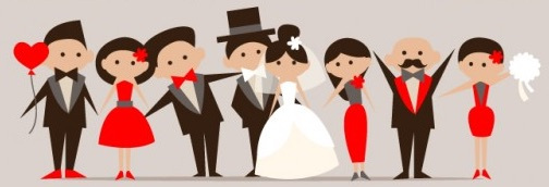 Entourage clipart freeuse Gifts for Your Wedding Entourage + Supplier Reviews. freeuse