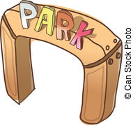 Entrace clipart freeuse download Park entrance Illustrations and Stock Art. 4,598 Park entrance ... freeuse download