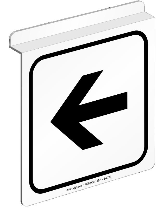 Entrance left arrow clipart jpg stock Entrance Arrow Signs   Directional Door Signs jpg stock