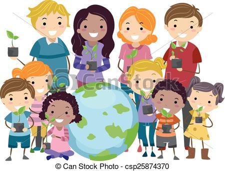 Environmental awareness clip art png transparent Social environment clipart - ClipartFest png transparent