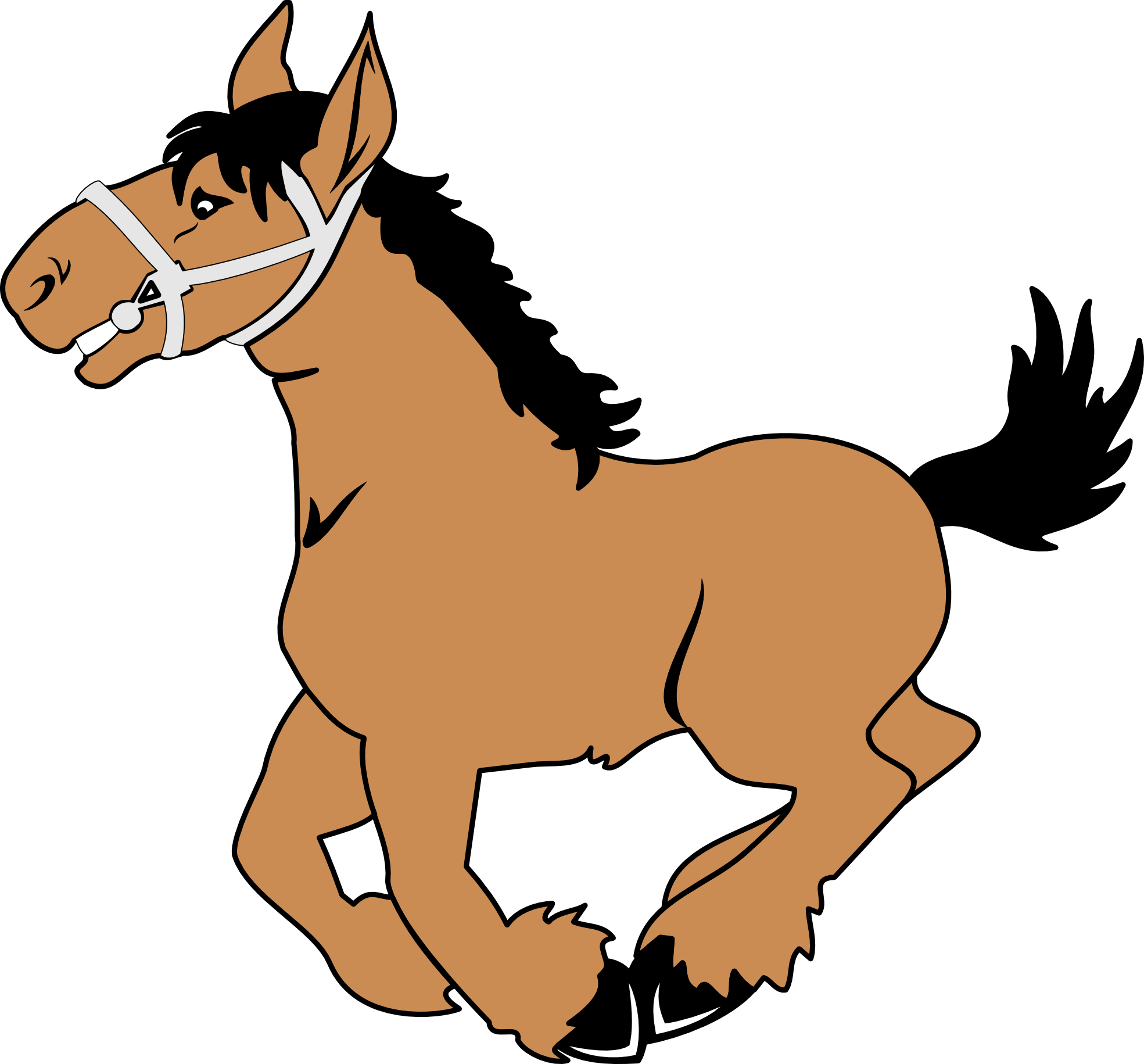 Free clipart cowboys walking with horses border clip transparent stock Free Free Images Of Horses, Download Free Clip Art, Free Clip Art on ... clip transparent stock