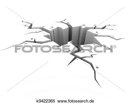 Erde boden clipart png black and white Stock Illustration - erde, boden, riß, weiß k9422365 - Suche ... png black and white