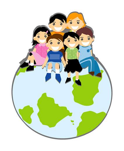 Erde clipart clip black and white download Kinder sitzen auf der Erde, Vektorgrafiken - Clipart.me clip black and white download