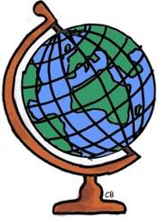 Erde clipart banner Clipart erdkunde - ClipartFest banner