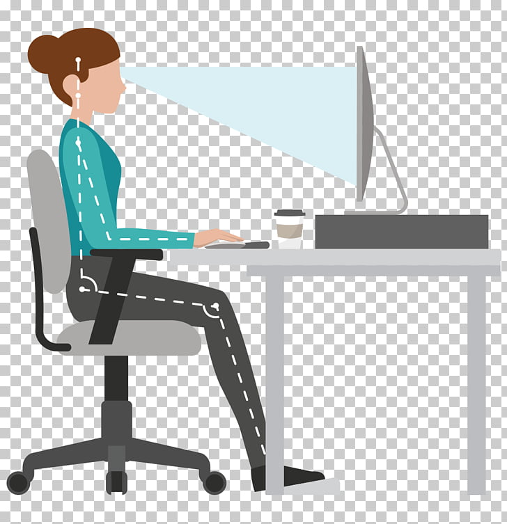 Ergonomic pictures clipart graphic library stock Office & Desk Chairs Human factors and ergonomics Sitting ... graphic library stock