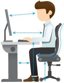Ergonomic pictures clipart picture royalty free 3 Top Trends in Workplace Ergonomics | TENAQUIP picture royalty free