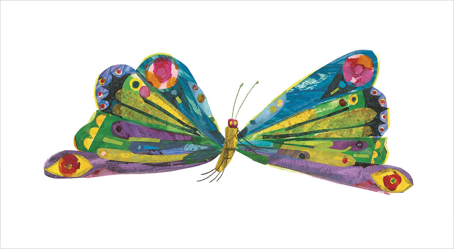 Eric carle butterfly clipart clipart transparent Eric Carle - butterfly | Art, Illustration, Paintings and more ... clipart transparent