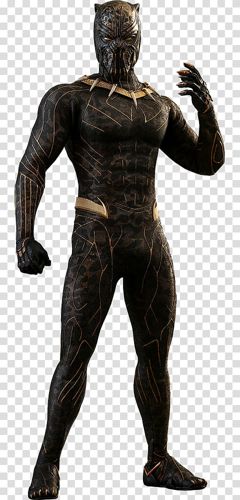 Erik killmonger clipart svg freeuse Erik Killmonger Black Panther Jaguar Action & Toy Figures Marvel ... svg freeuse