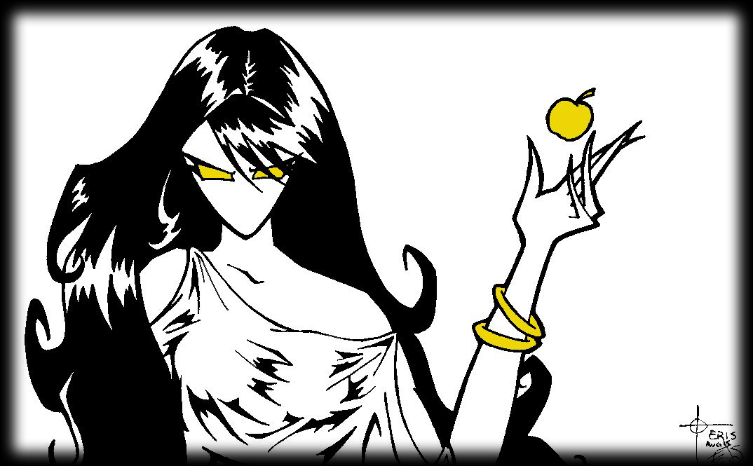 Eris greek mythology clipart black and white clip art transparent library Mother of Chaos – Grunge Crush clip art transparent library