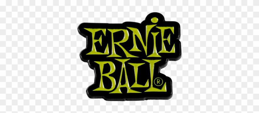 Ernie ball clipart clipart transparent stock Ernie Ball Green Stacked Logo Enamel Pin Front - Ernie Ball Clipart ... clipart transparent stock