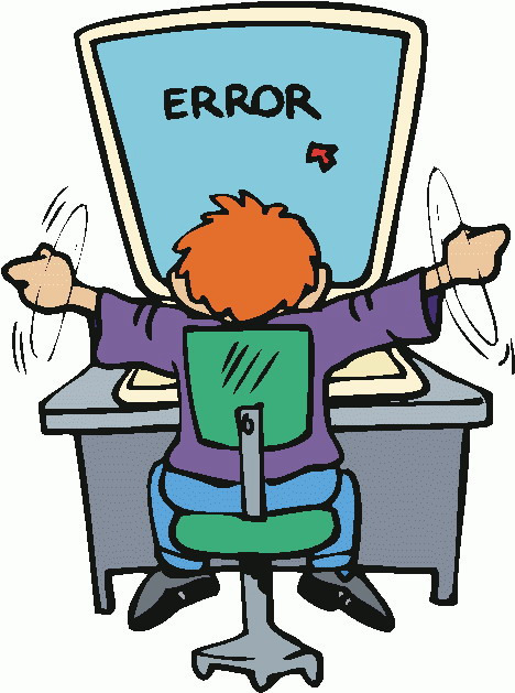 Error message clipart vector stock Computer error clipart - ClipartFest vector stock