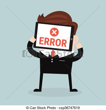 Error message clipart svg free stock Vector Clip Art of error message on tablet csp36747619 - Search ... svg free stock
