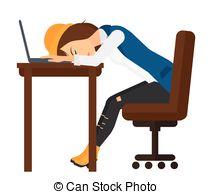 Erschpft arbeit clipart image transparent stock Vektor von erschöpft, Geschäftsführung, arbeit, ermüdet, spät ... image transparent stock
