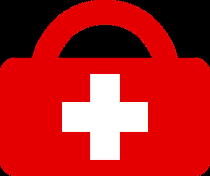 Erste hilfe clipart kostenlos png black and white download Kostenlose Vektorgrafik: Rotes Kreuz, Hilfe, Erste Hilfe ... png black and white download