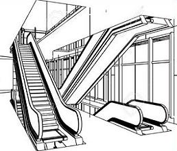 Escalators clipart royalty free Free Escalator Clipart royalty free