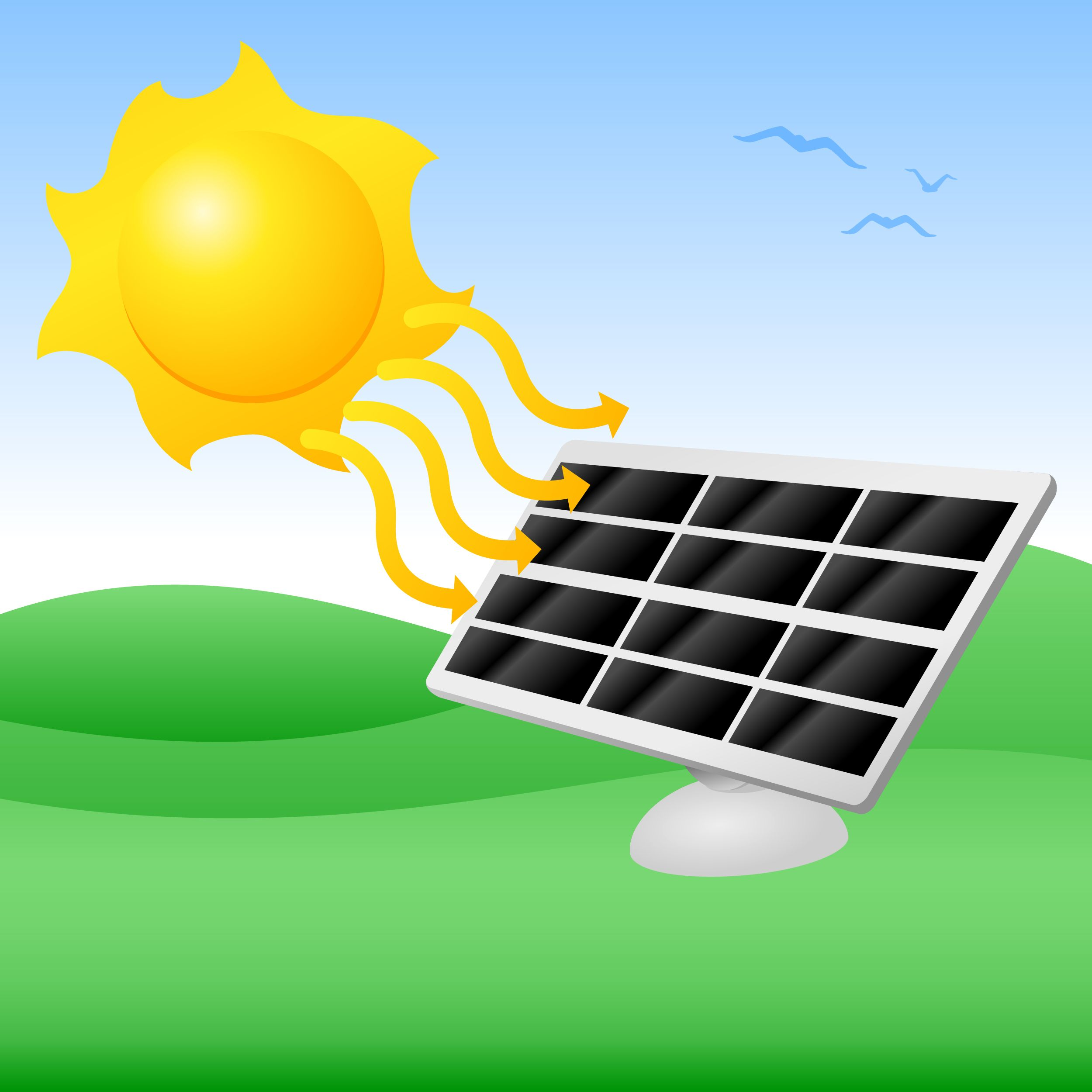 Solar energy clipart vector stock Pin by Leigh Garrod on Solar Energy Unleashed! FREE e-Book ... vector stock