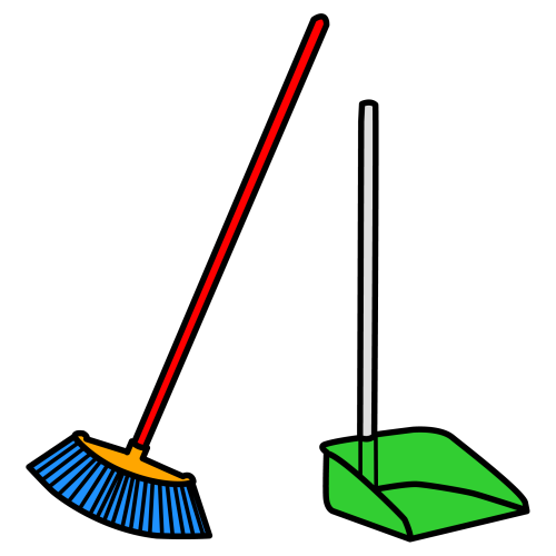 Escoba clipart picture escoba y recogedor | Carrie | Cleaning, Everyday objects, Garden tools picture