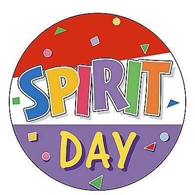 Spirit wear day clipart