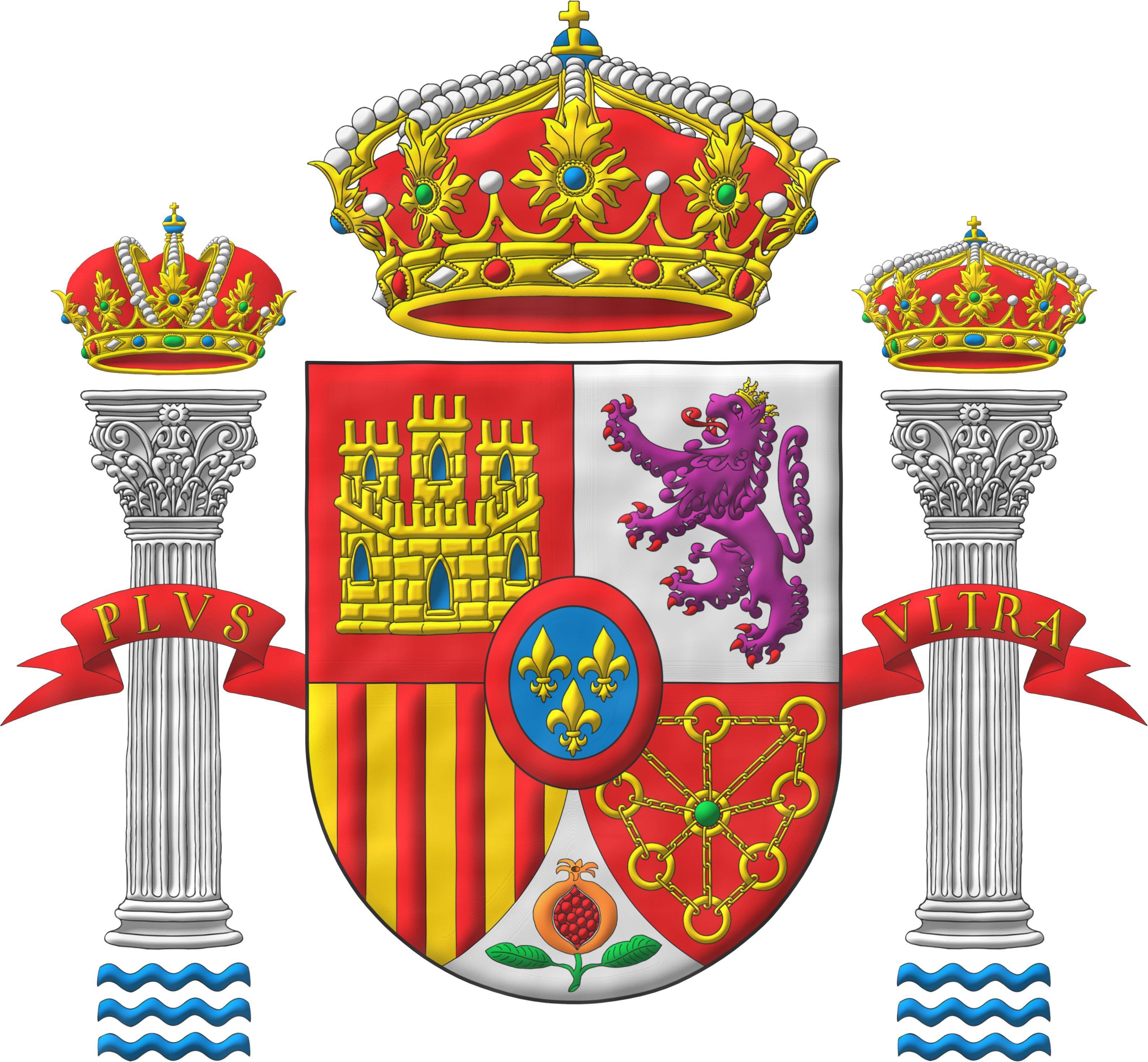 Escudo de espa a clipart png black and white download España; Escudo del Reino de España; Escudo de España   Heráldica ... png black and white download
