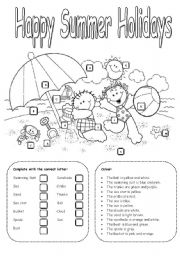 Esl vacation map clipart black and white clip art library stock Summer holidays: mind map to stimulate discussion - ESL worksheet by ... clip art library stock