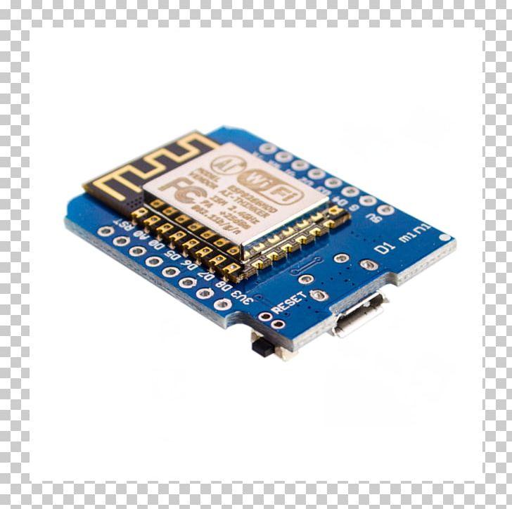 Esp8266 clipart library Microcontroller ESP8266 NodeMCU Wi-Fi WeMos D1 Mini PNG, Clipart ... library