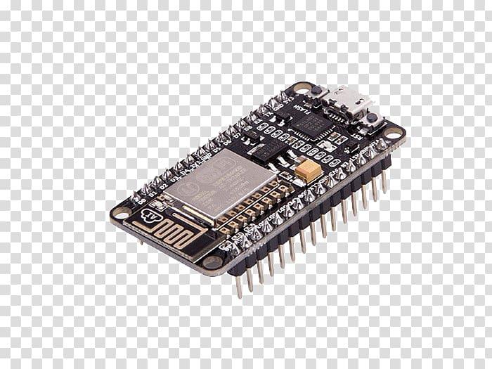 Esp8266 clipart banner black and white download NodeMCU ESP8266 Wi-Fi Lua USB, USB transparent background PNG ... banner black and white download