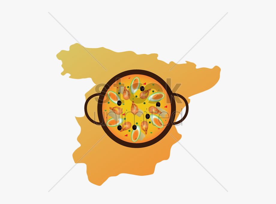 Espana clipart jpg freeuse download Main Dishes Clipart - Mapa De Paella En Espana, Cliparts & Cartoons ... jpg freeuse download