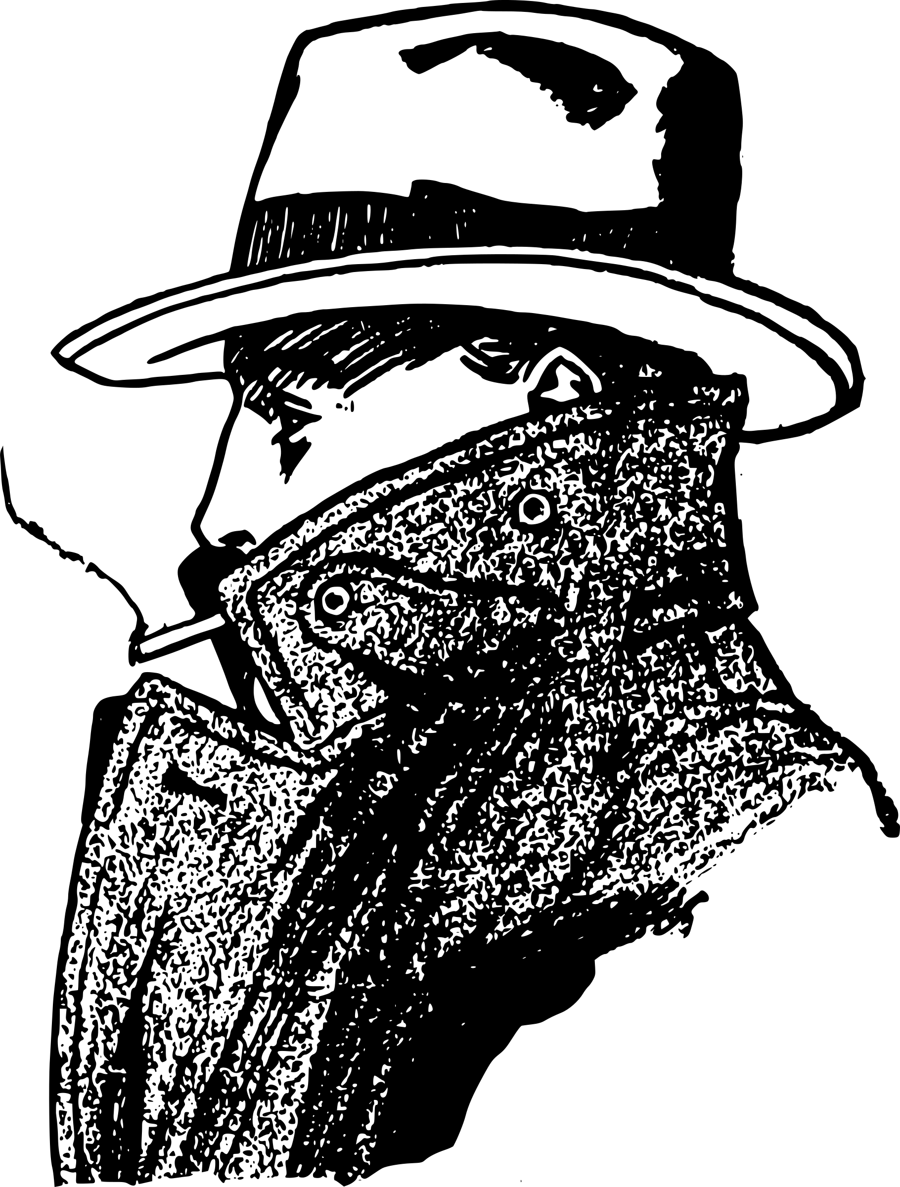 Espionage clipart png free Espionage A Legacy of Spies Clip art - Detective Silhouette png ... png free