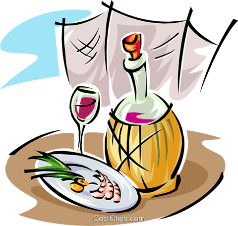 Essen clipart picture royalty free Wein und essen clipart - ClipartFest picture royalty free
