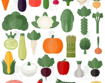 Essen clipart image royalty free Healthy food clipart | Etsy image royalty free