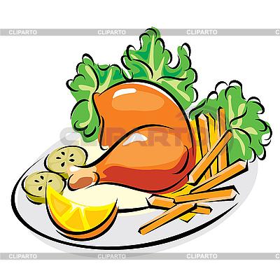 Essen clipart kostenlos freeuse Essen und Lebensmittel   Serie von den Bildern   CLIPARTO freeuse