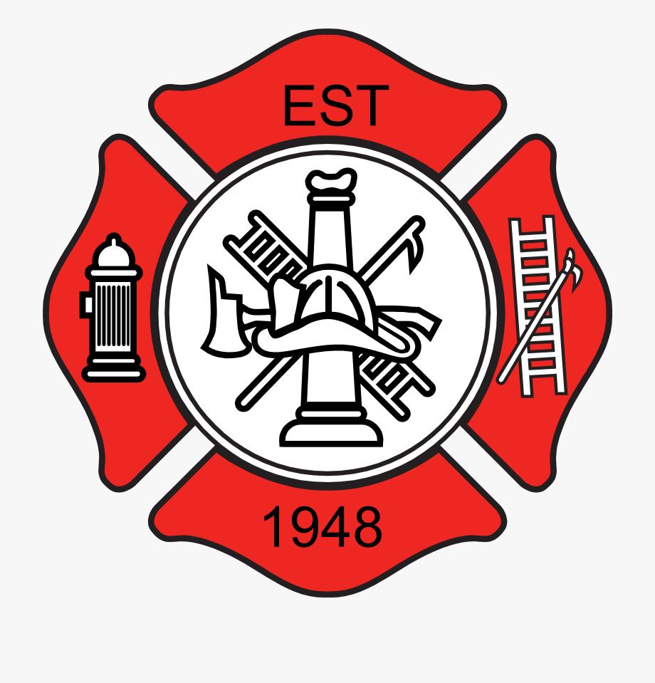 Est logo clipart clip art library library Fireman Emblem Clip Art - Simple Fire Department Logo, Cliparts ... clip art library library