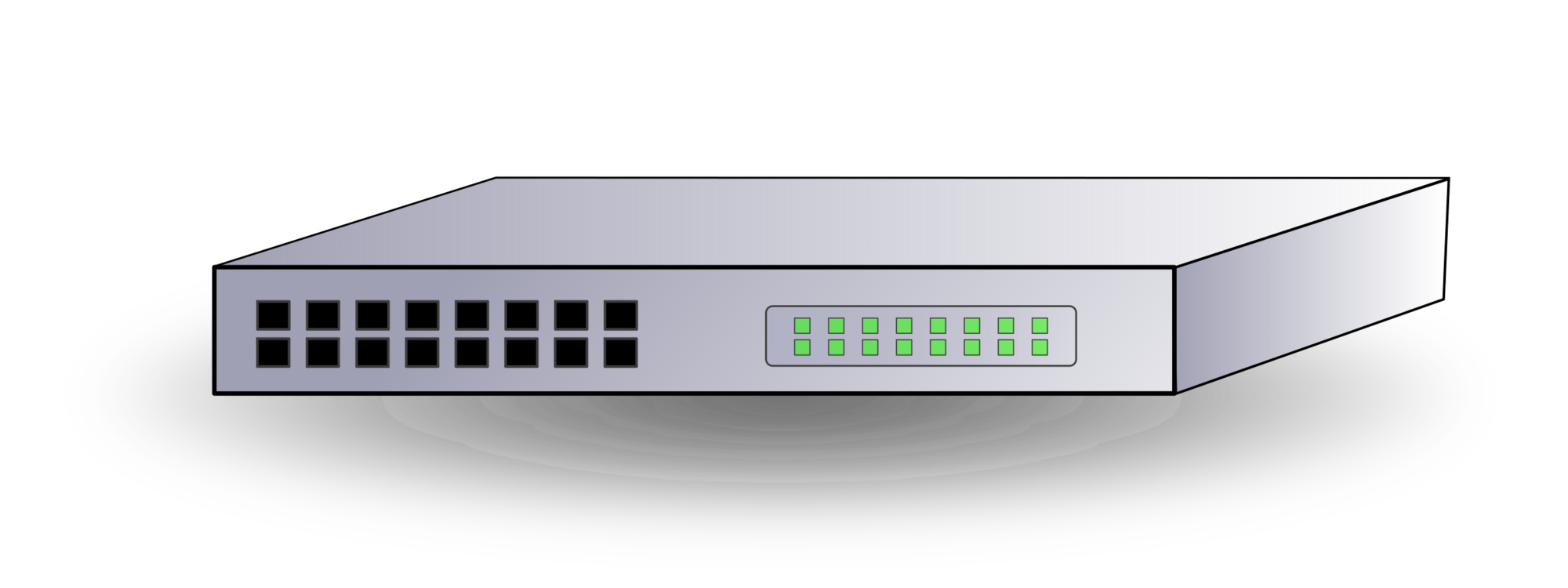 Ethernet switch clipart graphic freeuse Ethernet Hub,Technology,Electronics Accessory Vector Clipart - Free ... graphic freeuse