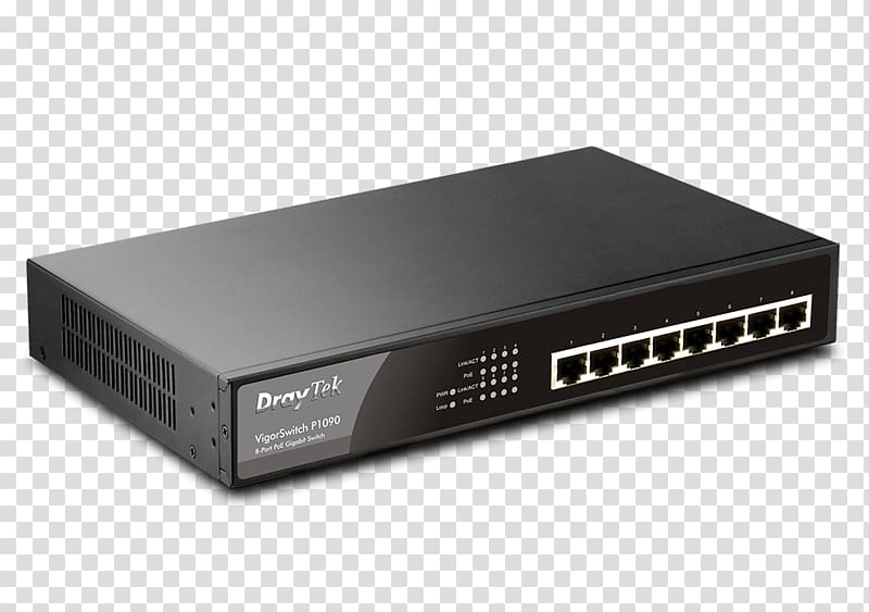 Ethernet switch clipart clipart transparent download Power over Ethernet Network switch DrayTek Gigabit Ethernet Router ... clipart transparent download