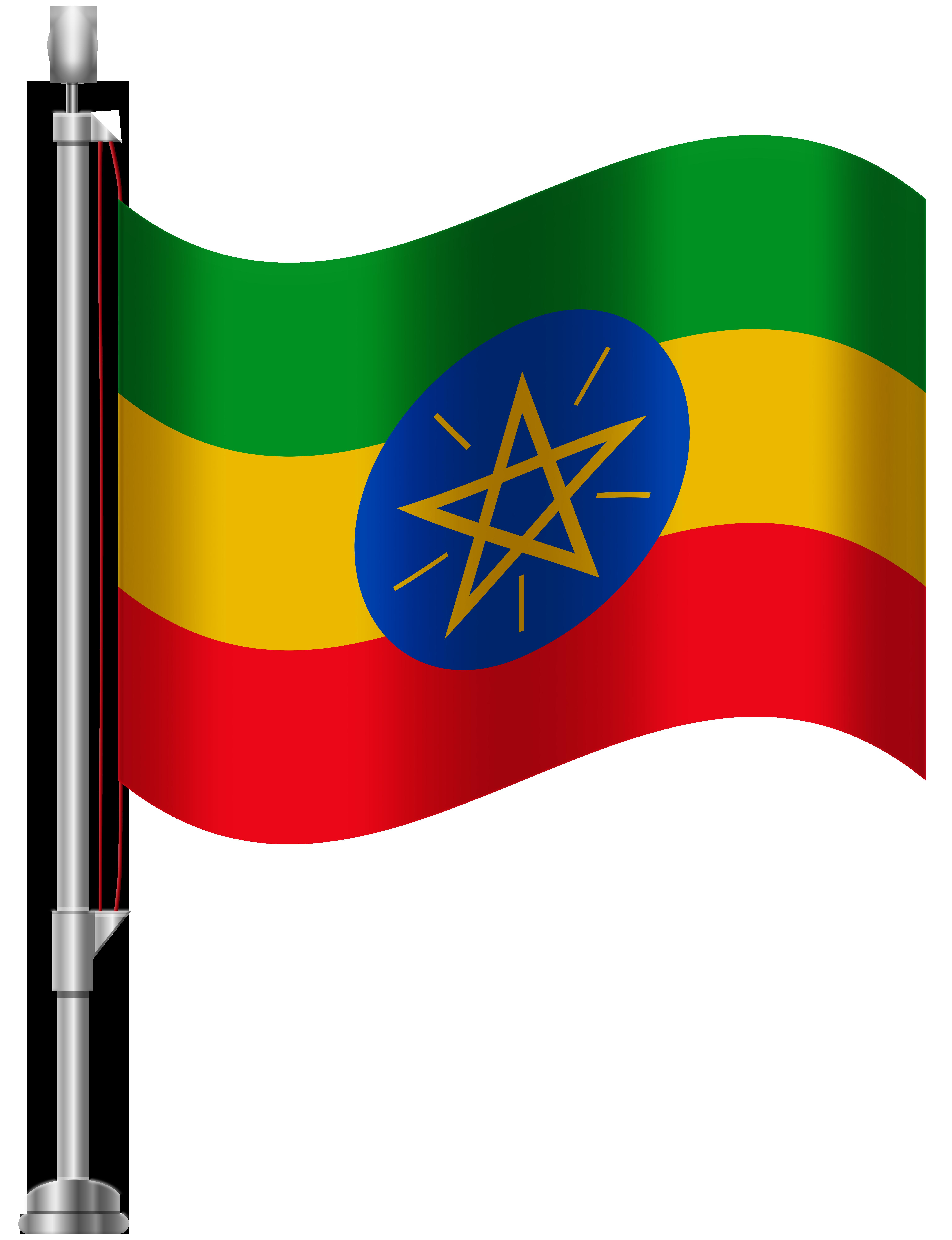 Ethiopian clipart banner Ethiopia Flag PNG Clip Art - Best WEB Clipart banner