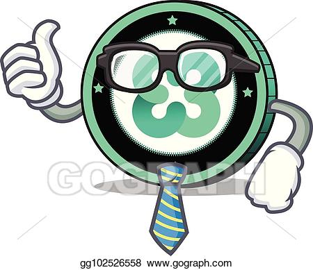 Ethos clipart image free Vector Illustration - Businessman ethos coin character cartoon. EPS ... image free