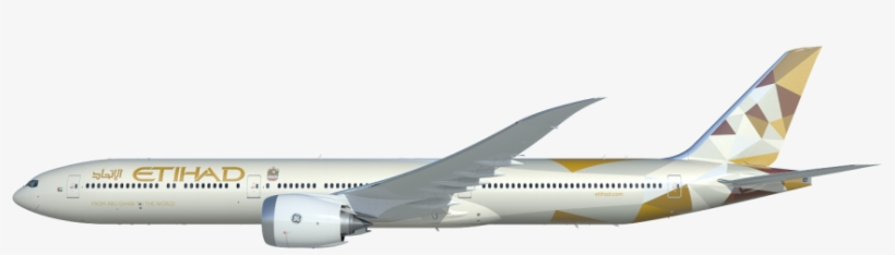Etihad clipart clip freeuse The 777x Is Boeing\'s Newest Family Of Twin Aisle Airplanes - Etihad ... clip freeuse