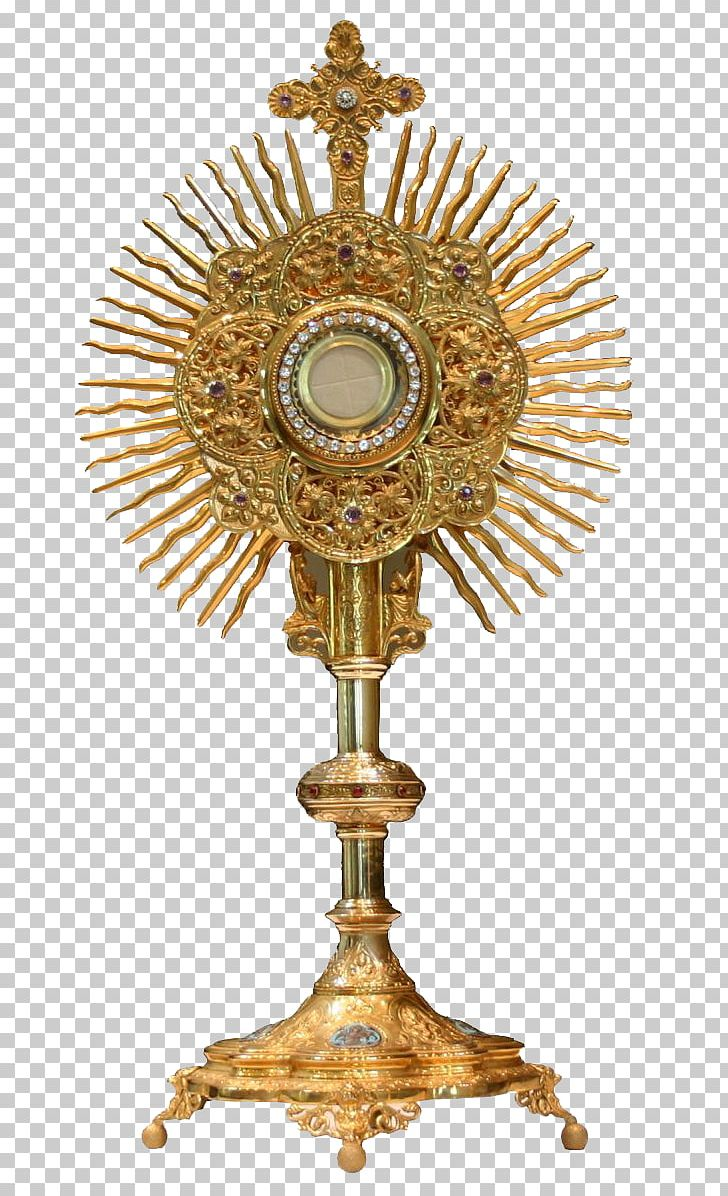 Eucharistic adoration clipart jpg royalty free stock Monstrance Blessed Sacrament Eucharistic Adoration Holy Card PNG ... jpg royalty free stock