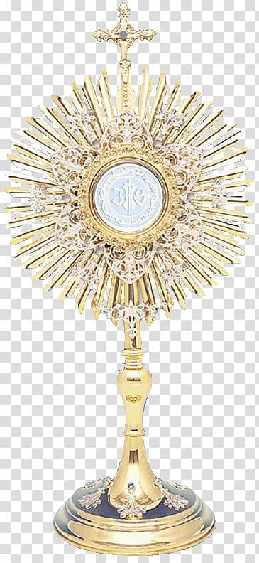 Eucharistic adoration clipart banner royalty free library Gold-colored ornament, Blessed Sacrament Eucharistic adoration ... banner royalty free library
