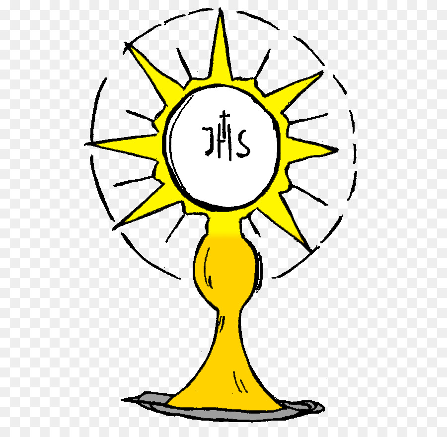 Eucharistic adoration clipart image royalty free library Jesus Cartoon image royalty free library