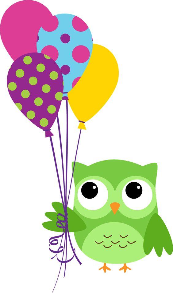 Corujas 3 - Minus | Pour le plaisir | Pinterest | Luftballons ... clip art freeuse stock