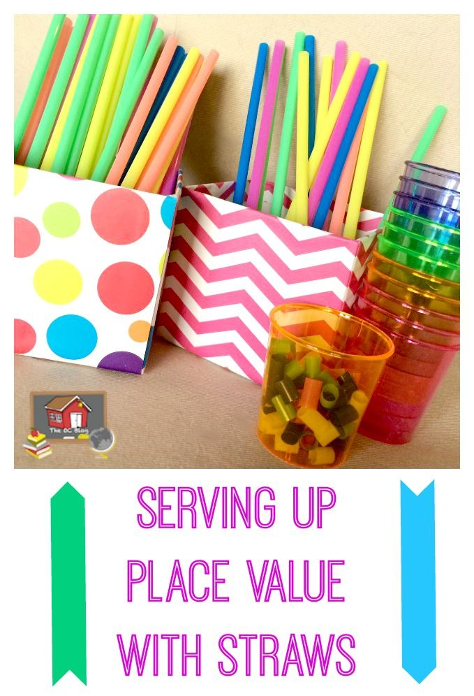 Eureka math straws clipart vector free library Serving Up Place Value with Straws | New Teachers | Teaching place ... vector free library